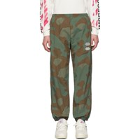 Off White Green And Brown Camo Lounge Pants