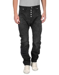 Humor Denim Pants Black