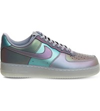 Nike Air Force 1 M Iridescent Leather Trainers Anthracite Stealth
