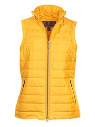Barbour Current Baffle Quilt Gilet Yellow