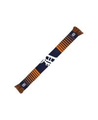 Forever Collectibles Detroit Tigers Big Logo Knit Scarf Navy Orange