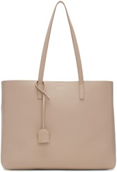 Saint Laurent Pink Large Shopping Tote