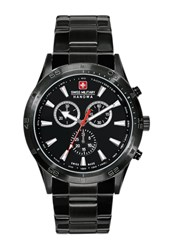Swiss Military Hanowa Opportunitiy Watch Schwarz Black