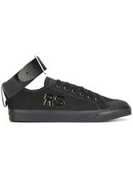 Raf Simons Adidas By Buckled Sneakers Black