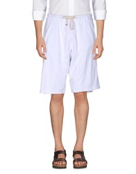 The Editor Trousers Bermuda Shorts White