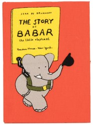 Olympia Le Tan The Story Of Babar Book Clutch Orange