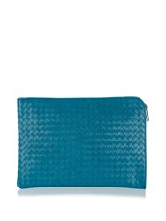 Bottega Veneta Intrecciato Leather Document Holder