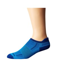 Wrightsock Stride Tab Blue Royal Low Cut Socks Shoes