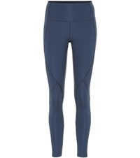 Lndr Ultra Form Cropped Leggings Blue