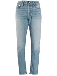 Polo Ralph Lauren High Waisted Skinny Jeans Blue