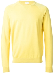 Faconnable Faconnable Crew Neck Sweater Yellow And Orange