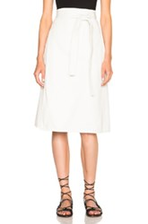 Citizens Of Humanity Donna Wrap Skirt In White
