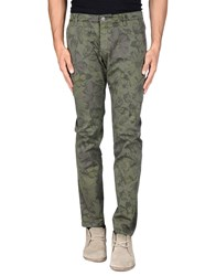 Daniele Alessandrini Homme Trousers Casual Trousers Men Military Green
