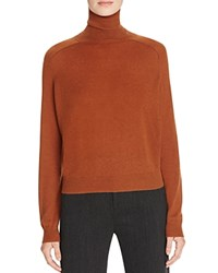 Vince Cashmere Turtleneck Sweater Cinnamon