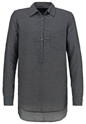 Gap Tunic Dark Heather Grey Dark Gray