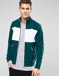 Lacoste Live Track Jacket With Chest Stripe Gr1 Green 1