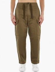 Paul Smith Khaki Oversized Utility Trousers Kaki