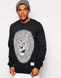 Supreme Being Supremebeing Sunrah Crew Sweatshirt Black