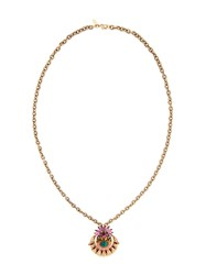 Elizabeth Cole Pendant Necklace Metallic