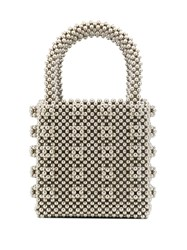 Shrimps Mini Antonia Tote Silver