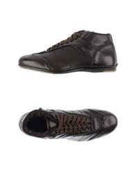 Alexander Hotto High Tops And Trainers Dark Brown