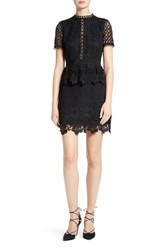 Ted Baker Women's London Dixa Layered Lace Skater Dress