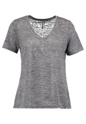 Banana Republic Signature Basic Tshirt Heather Grey Dark Grey