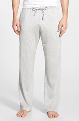 Men's Daniel Buchler Silk And Cotton Lounge Pants Grey