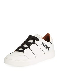 Ermenegildo Zegna Tiziano Leather Sneaker White
