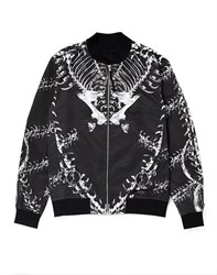 Religion Reversible Bomber Jacket Black