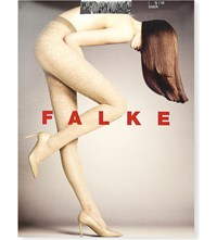 Falke Shipwreck Patterned Tights 3009 Black