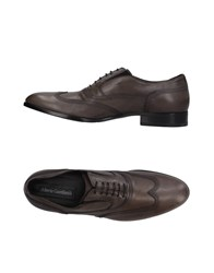 Alberto Guardiani Lace Up Shoes Steel Grey