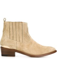 Golden Goose Deluxe Brand 'Daisy' Boots Nude And Neutrals