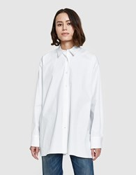 6397 Big Shirt In White