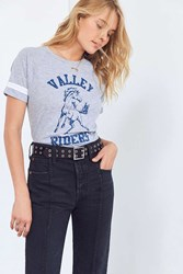 Project Social T Valley Riders Tee Grey