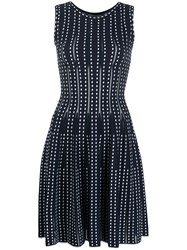Antonino Valenti Knitted Geometric Pattern Dress 60