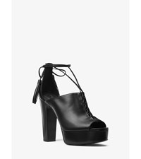 Sylvan Leather Platform Pump