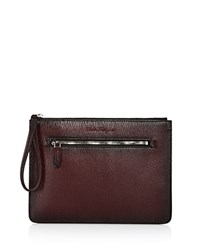 Salvatore Ferragamo Revival 3.0 Document Holder Wine
