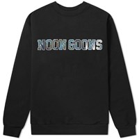 Noon Goons Star Eyed Crew Sweat Black