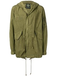 Mr And Mrs Italy Mid Length Military Coat Green