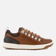 Polo Ralph Lauren Men's Adventure 100 Leather Hiking Trainers Deep Saddle Tan