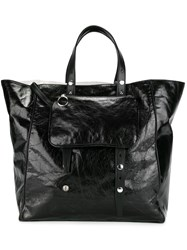 Maison Martin Margiela Mm6 Double Handles Tote Black