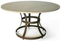 James De Wulf Hourglass Dining Table