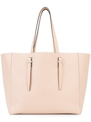 Valextra Soft Shopper Tote Nude Neutrals