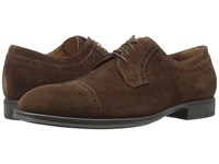 Aquatalia By Marvin K Duke Rusty Brown Dress Suede Men's Shoes