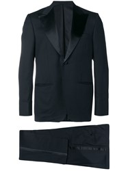 Kiton Two Piece Dinner Suit Blue