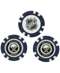 Team Golf Buffalo Sabres 3 Pack Poker Chip Markers Black