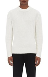 Rag And Bone Men's Oliver Brushed Sweater Ivory