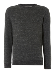 Label Lab Smith Marl Sweater Charcoal