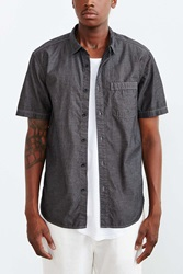 Cpo Poplin Button Down Shirt Black